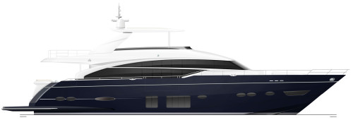 88-motor-yacht-profile-blue-hull-with-hardtop