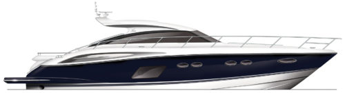 Princess_V62-S_profile_blue-hull